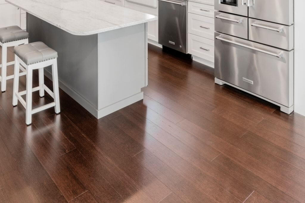 Artisan Cocoa Ambient Bamboo Distressed Hardwood Flooring4987
