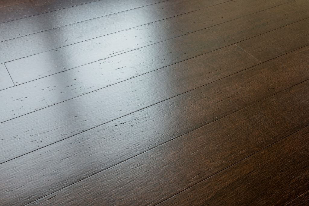 Artisan Cocoa Distressed Dark Hardwood Bamboo Flooring789