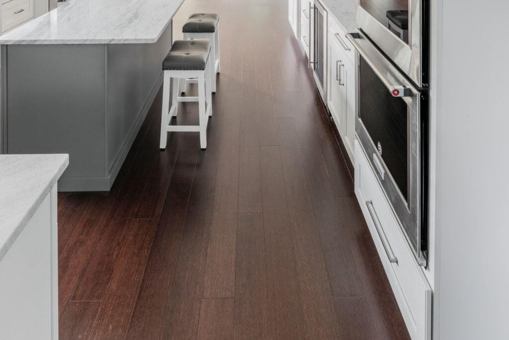 Artisan Cocoa Wire Brushed Dark Bamboo Hard Floors9798