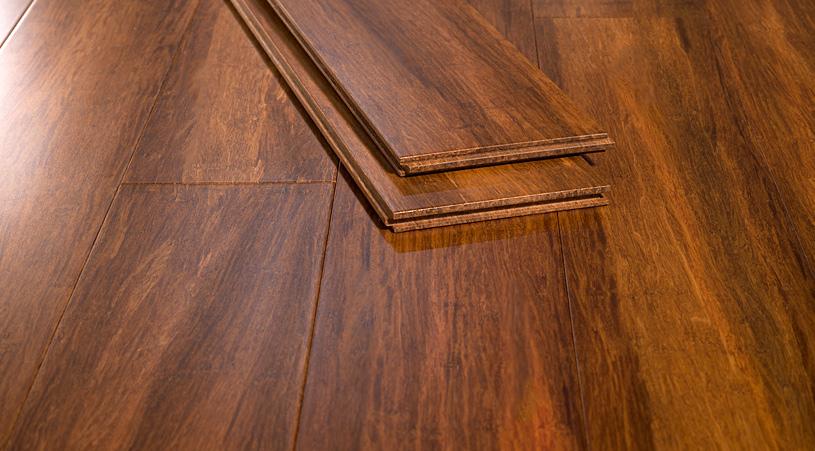 Bamboo Flooring Mocha Pizzazz Angle21