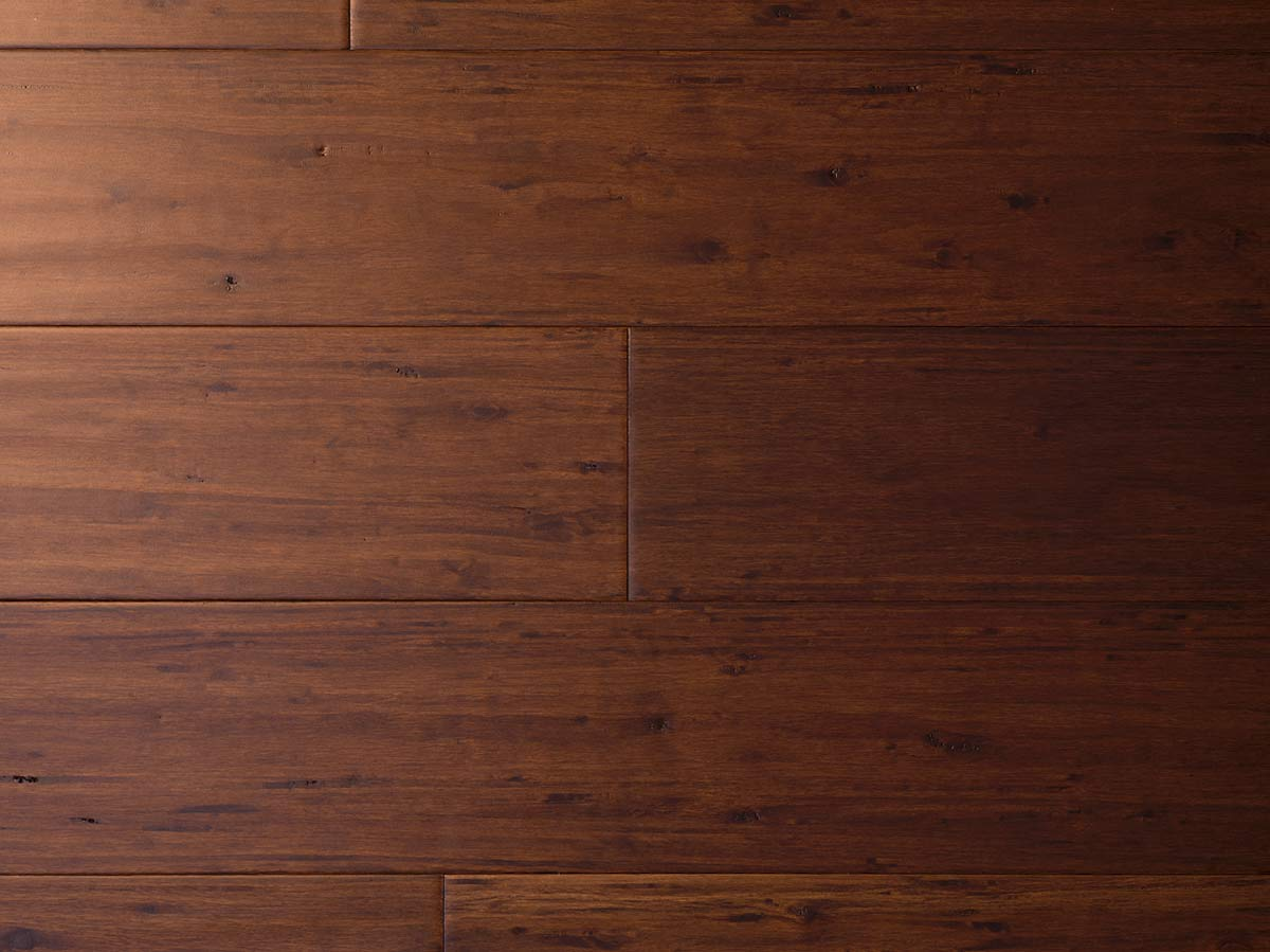 Cafe Brown Antiqued Strand Woven 12mm Eucalyptus Floor