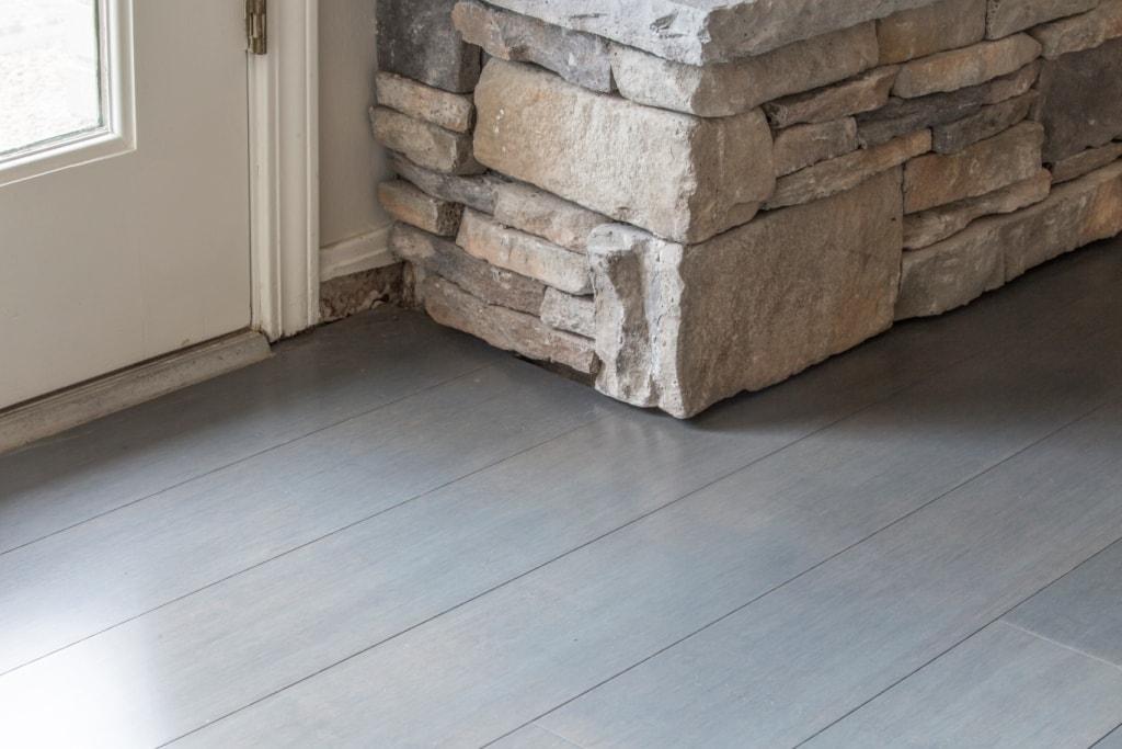 Chrome Dark  Gray Bamboo Flooring1