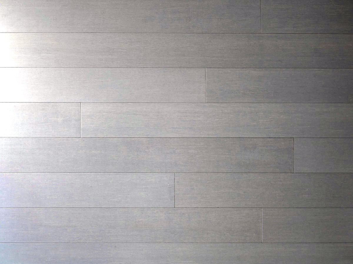 Chrome Dark Wide Plank Glueless Bamboo Hardwood Flooring3277