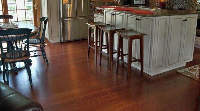 Cinnamon Wide Plank Strand F S C Certified Bamboo Floor4623