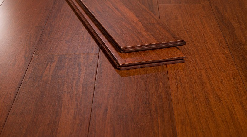 Cinnamon Wide Plank Strand Bamboo Floor