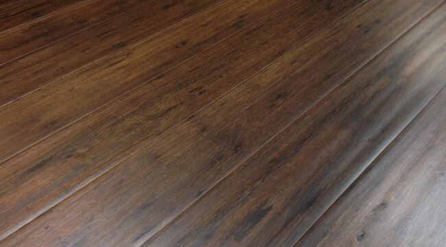 Cocoa Bean Antiqued Hand Scraped Eucalyptus Flooring98745