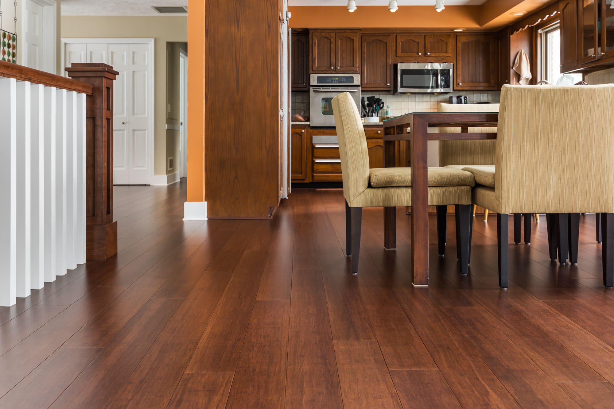 Espresso Wide Plank Solid Strand Bamboo Floor