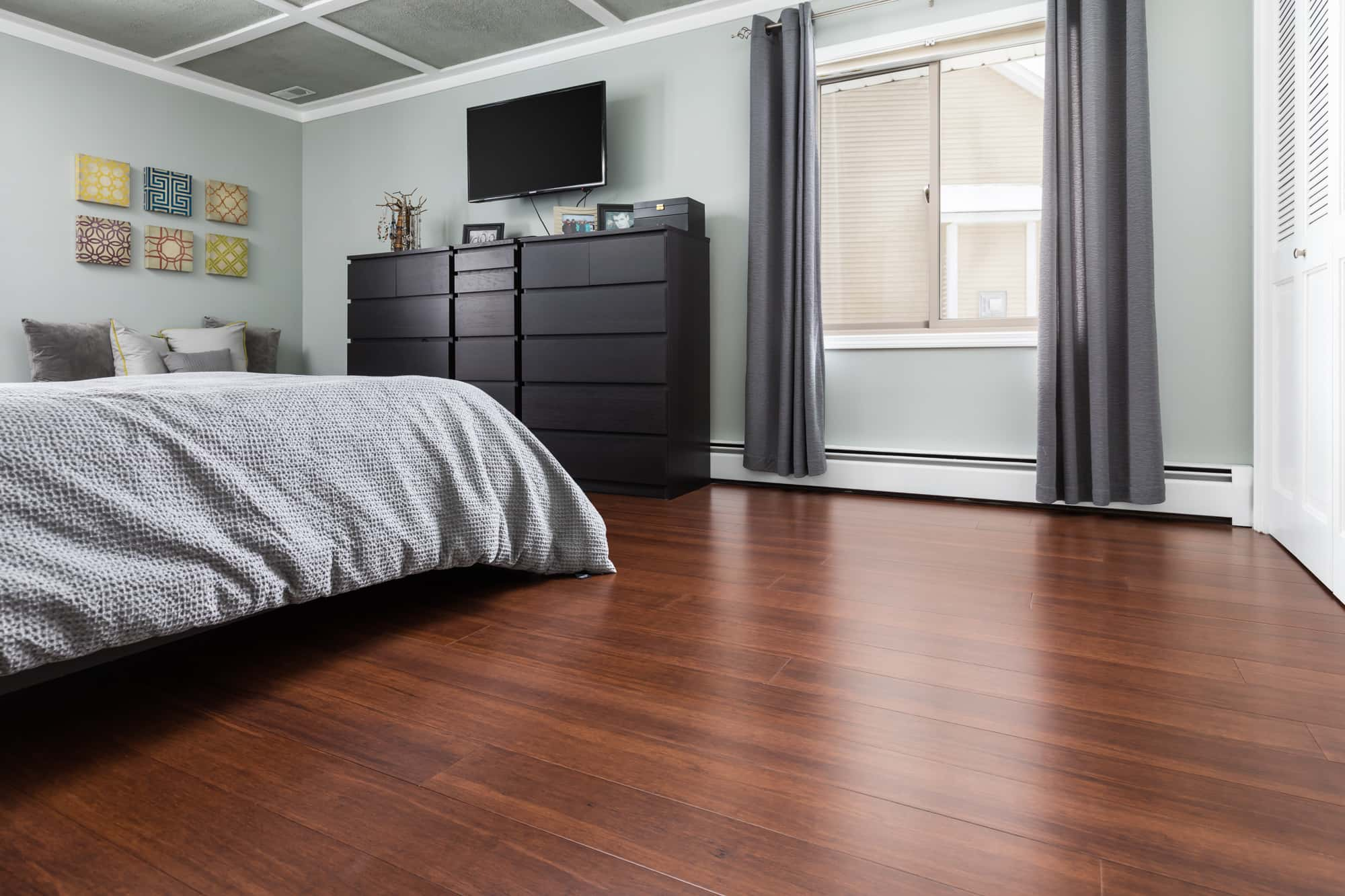 Espresso Bamboo Flooring1 Bedroom min