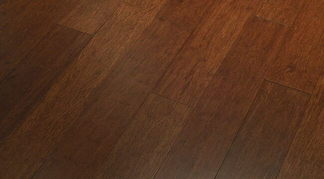 Espresso Stranded High Quality Bamboo Hardwood Floor961