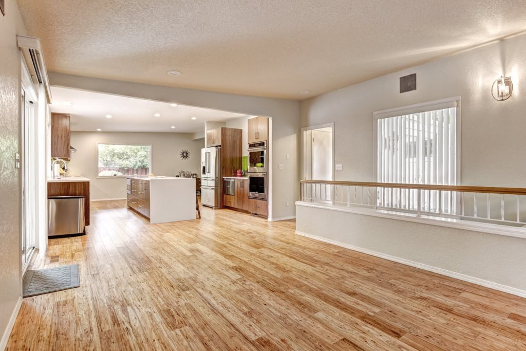 Eucalyptus Flooring Natural Tupelo Honey Living Foyer
