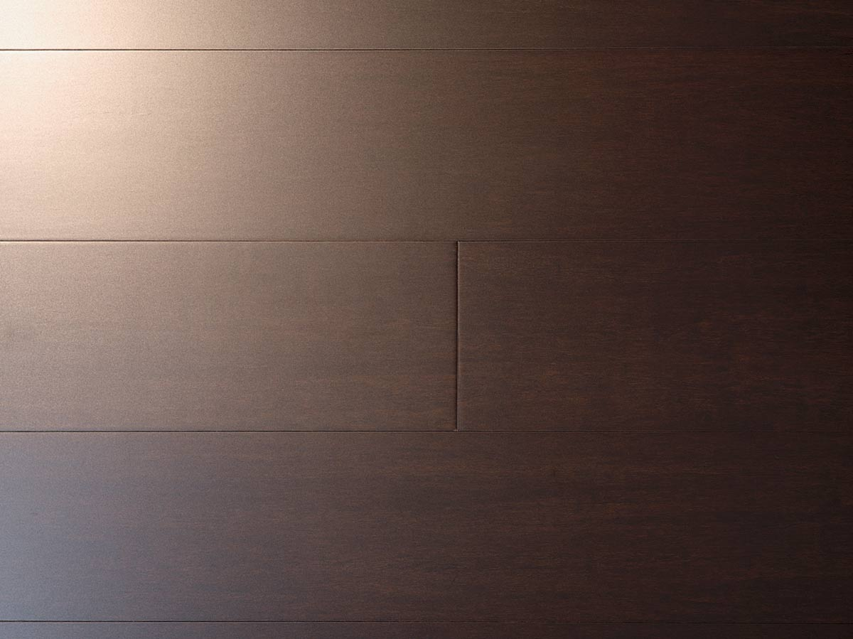 Java Wide Plank Dark Bamboo Floor