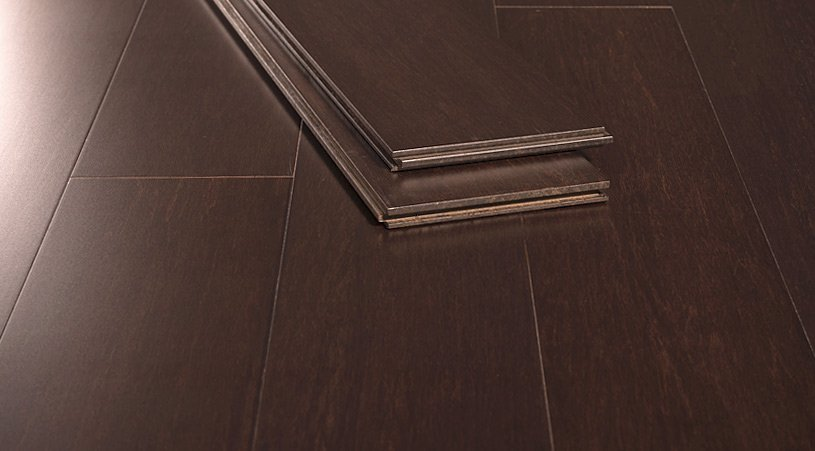 Java Matte Finish Nail Down Solid Sustainable Bamboo Floor423