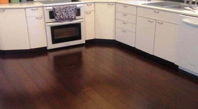 Java Strand Woven Dark Brown Bamboo Flooring Best Kitchen4968