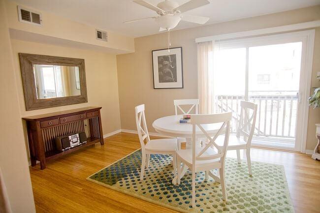 Natural Strand Bamboo Premium Flooring Dining Room493