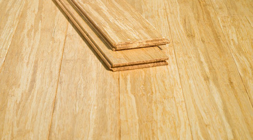 Natural Tongue Groove Solid Stranded Hardwood Bamboo Flooring L G7