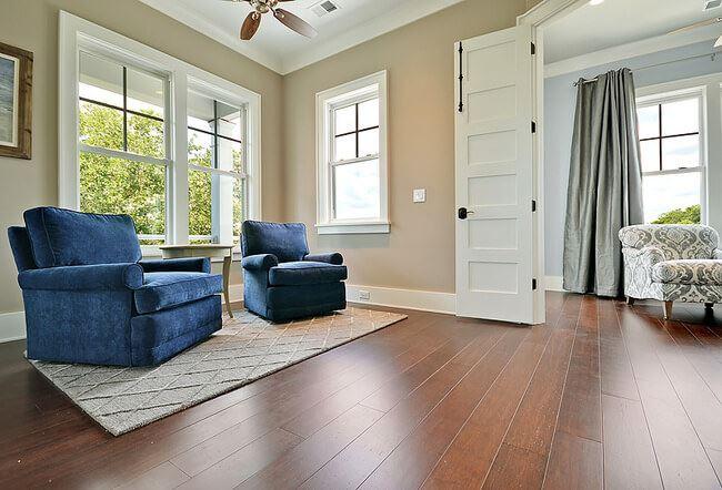 Rustic Amber Bamboo Hardwood Floor1