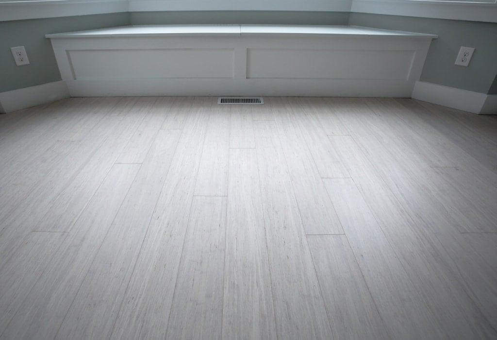 Rustic Ivory White Bamboo Flooring C2