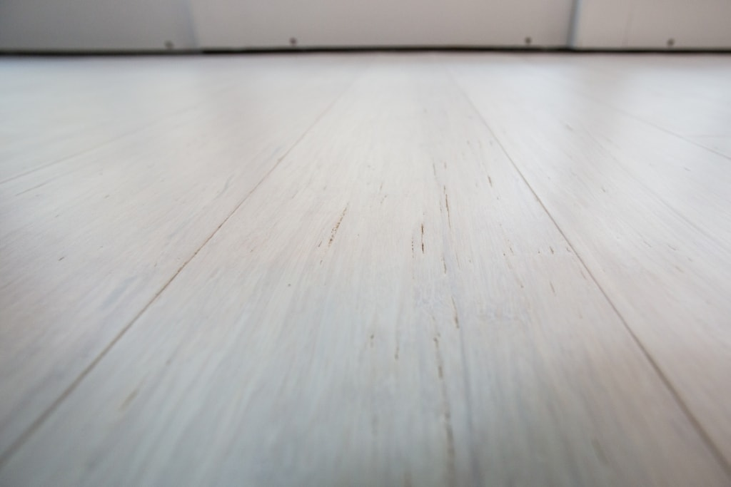 Rustic Ivory White Bamboo Flooring C6