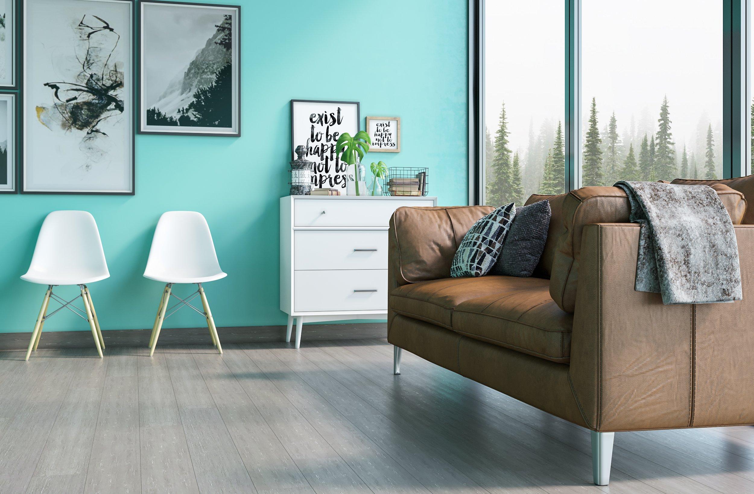 Rustic Mist Grey Bamboo Flooring Planks5