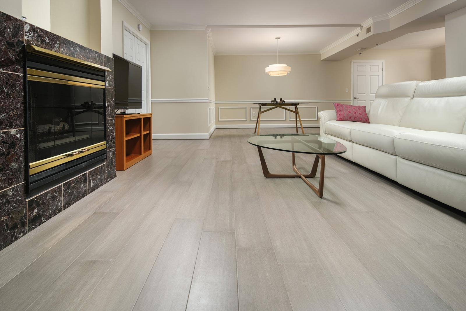 Rustic Mist Light Grey Washed Bamboo Flooring