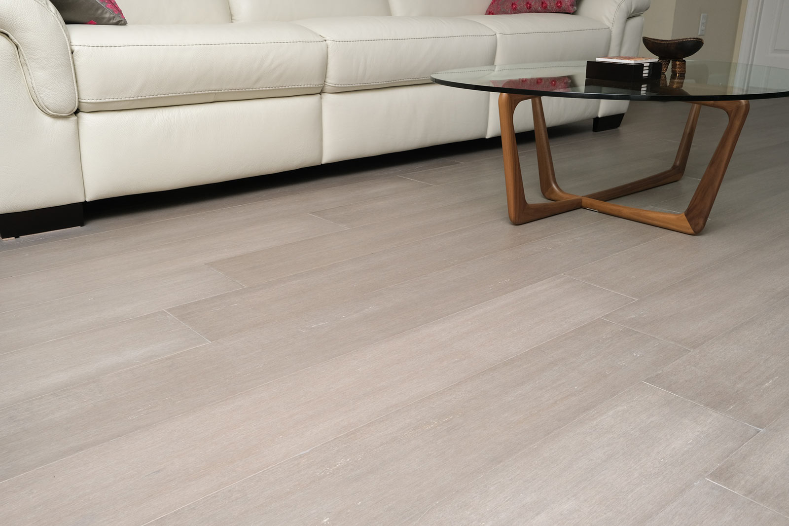 Rustic Mist Light Grey Washed Bamboo Flooring8