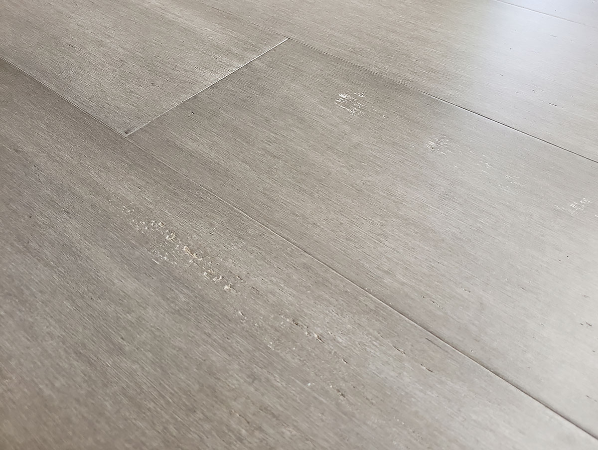 Rustic Mist Light Grey Washed Bamboo Flooring9