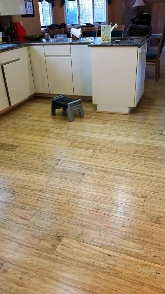 Strand Antiqued Natural Bamboo Flooring Good For Pets