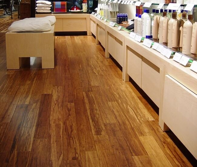 Strand Carbonized Bamboo Flooring Janka Rating Salon
