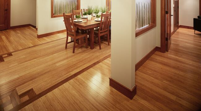 Strand Natural Strand Carbonized Inlaid Strand Bamboo Beautiful Floors469