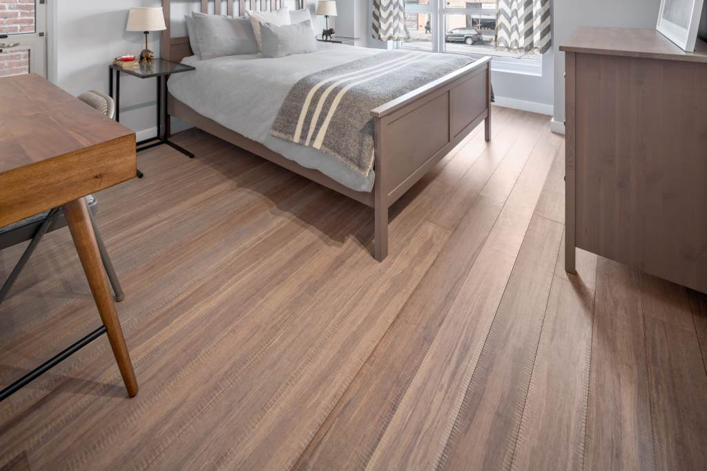 Tahoe Sawn Distressed Bamboo Floor S6