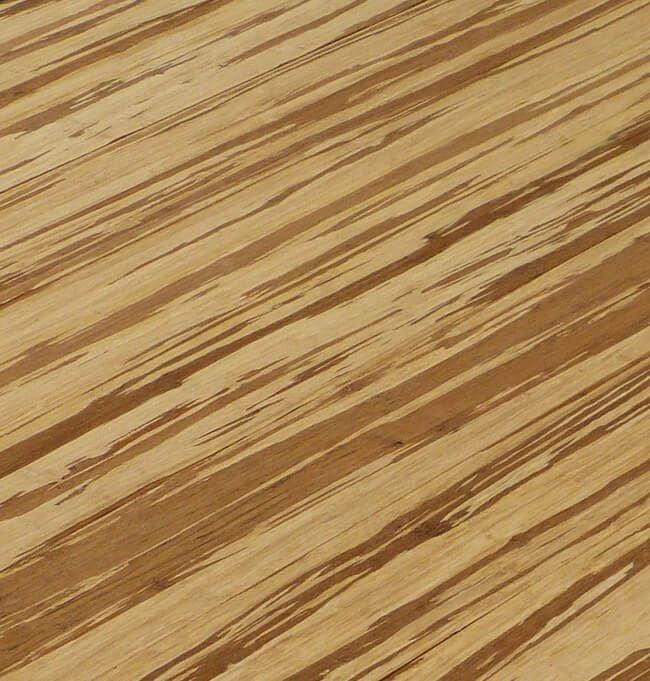 Tiger Marbled Zebra Light Lot Wide Plank Strand Woven Bamboo Flooring798