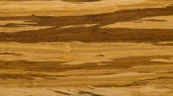 Tiger Marbled Zebra Nail Down Glue Down Hard Strand Bamboo Floor332