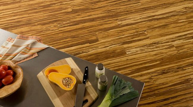 Tiger Marbled Zebra Strand Bamboo Flooring Natural Carbonized4699