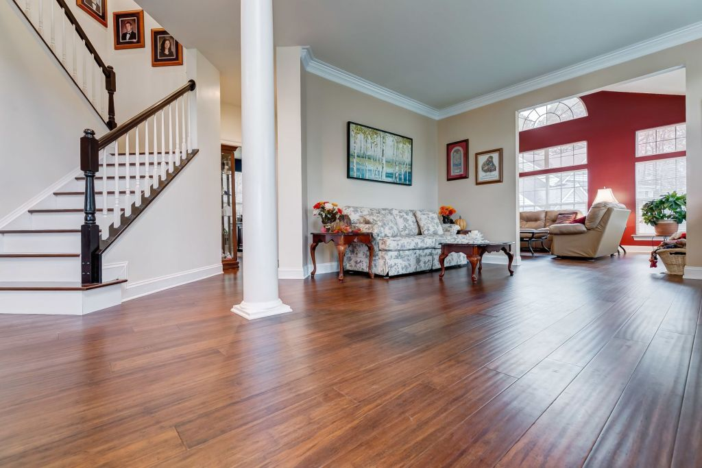 Toasted Almond Antiqued Bamboo Floorvc20