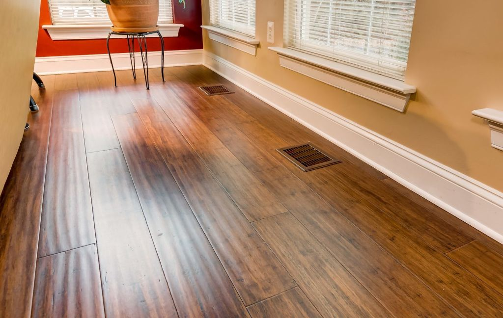 Toasted Almond Antiqued Bamboo Floorvc9
