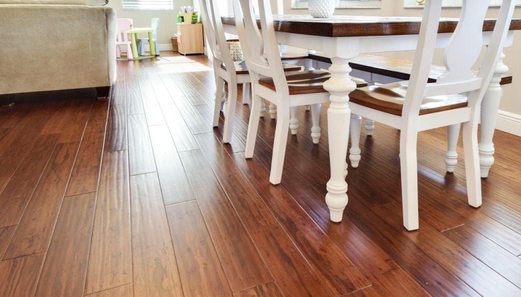 Wide Plank Cafe Brown Distressed Hardwood Premium Eucalyptus0462