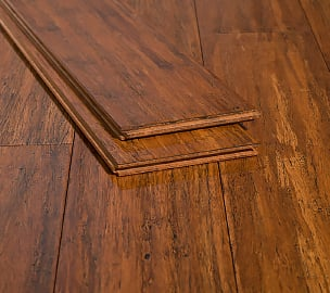 Carbonized Antiqued Rustic Handscraped Nail Down Bamboo Floors46
