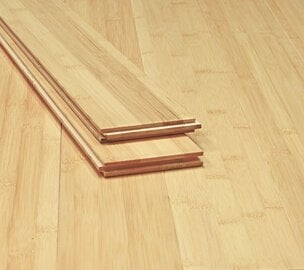 Natural Horizontal Flat Grain Bamboo Highest Quality Floor2589