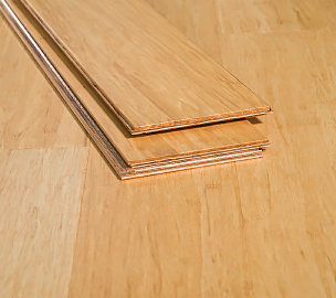 Natural Stranded Locking Floating Bamboo Flooring6659