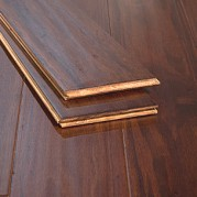 Cafe Brown Handscraped Premium Tongue Groove Eucalyptus Floors91