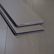 Chrome Dark Grey Slate Gray Strand Woven Bamboo Flooring11