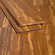 Tiger Marbled Natural Carbonized Hardwood Strand Bamboo Floors444