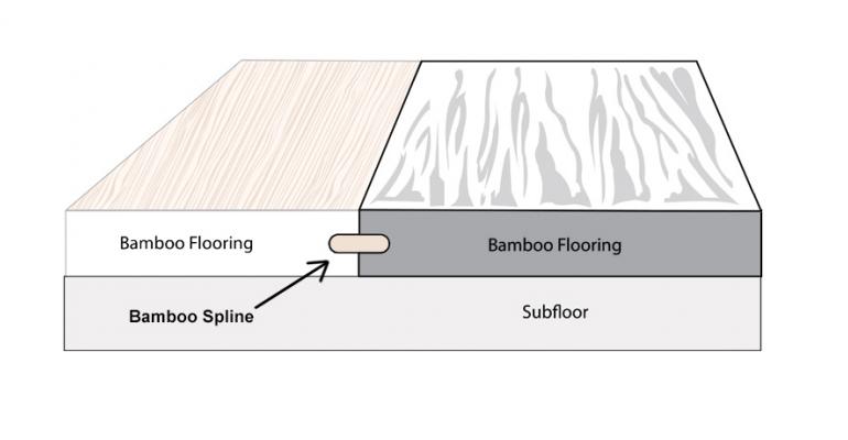 Bamboo  Spline  Diagram
