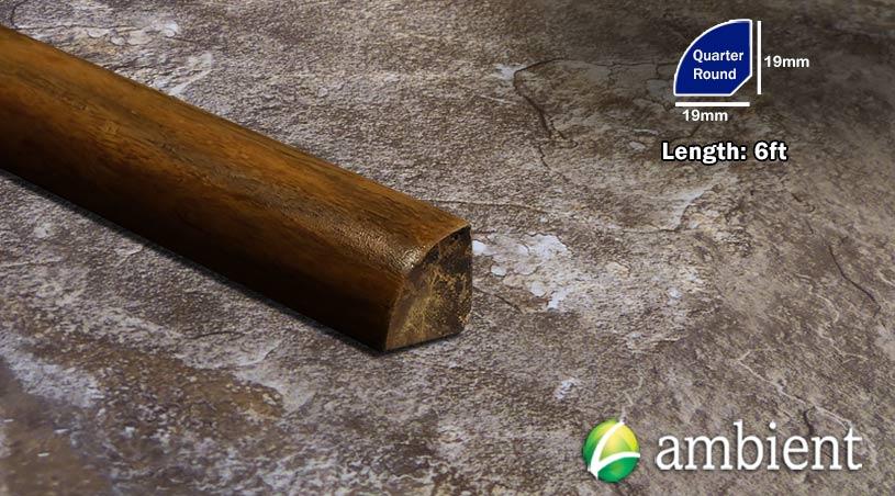 Bamboo Quarter Shoe Molding Toasted Almond