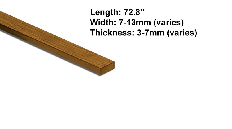 Hardwood Bamboo Splinefor14mm Flooring