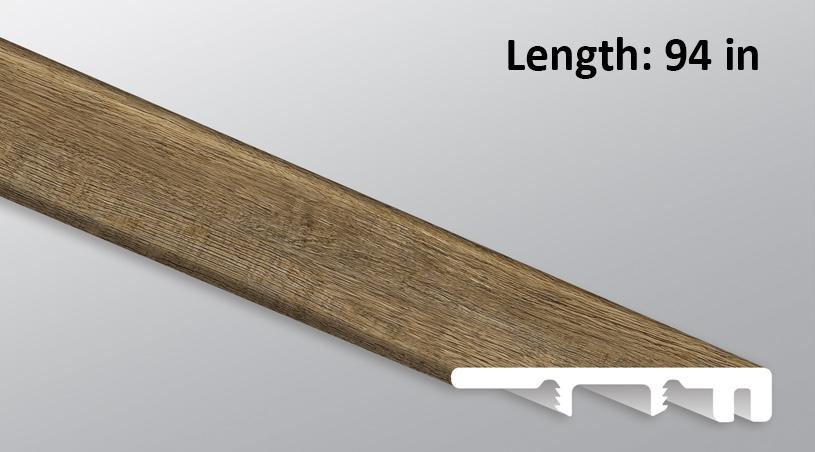 M S I Reclaimed Oak Endcap Threshold