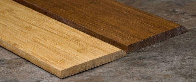 Strand Bamboo Base Board Wall Base Solid