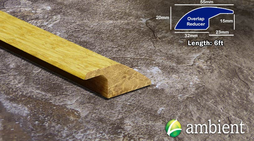 Strand Bamboo Overlap Reducer Solid Natural