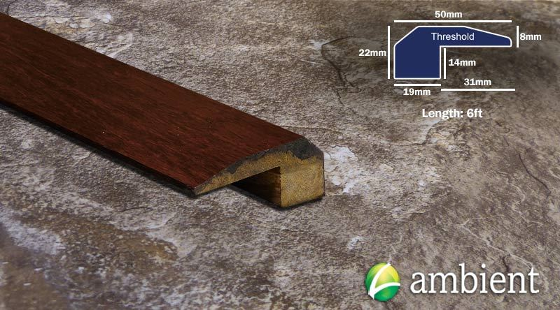 Strand Bamboo Threshold Endcap Amber