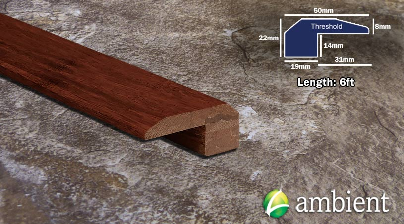 Strand Bamboo Threshold Endcap Cinnamon